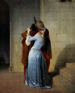 Il bacio di Francesco Hayez (Pinacoteca_di_Brera,_Milano,_1859)