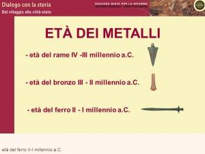l'età dei metalli