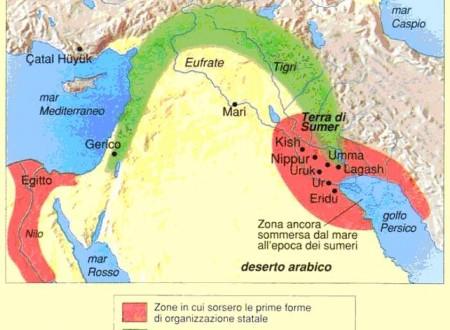 LA MESOPOTAMIA –  I SUMERI